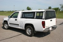 Forward Mounted Side Access Doors w/Rear Sliding Side Window w/Screens